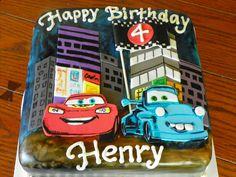 "Tokyo Cakes Design | Plumeria Cake Studio: Disney Pixar Cars ""Tokyo Mater"" Cake"