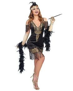 Find scary-good deals on high-quality Flapper & Gangster Costumes in all shapes & sizes. No one does Halloween better than Spirit! Gangster Costumes, Spirit Halloween Costumes, Cool Costumes, Costumes For Women, Costume Ideas, Halloween Party, Gatsby Wedding Dress, Gatsby Party, 1920s Party