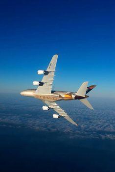 First Etihad Airbus A380