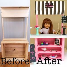 American Girl Bakery is an easy DIY project that would make a fabulous American Girl gift idea this Christmas!