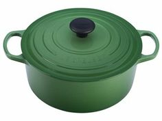 Fennel 5.5-qt. Signature Enamel Cast Iron Round French Oven by Le Creuset at Cooking.com  #holidaycooking