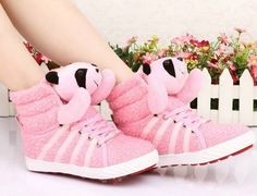 ... 2014 Autumn Children Girls Sports High Shoes For Kids Brand Sneakers Children's Shoe Sport Bear School ...