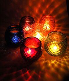 緑色のダイヤ柄キャンドルホルダー|照明(ライト)・ランプ|ハンドメイド通販・販売のCreema