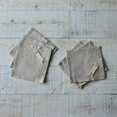 Heirloomed Linen Cocktail Napkins (Set of 6) on Provisions by Food52