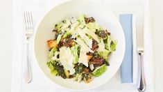 While some would argue that a Caesar salad isn't all that healthy, we've managed to track one down from The Belvedere restaurant.