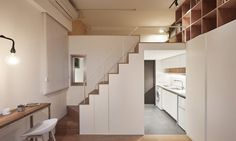 Smart space-saving design transforms a tiny apartment in Taipei into an upscale home   Inhabitat - Green Design, Innovation, Architecture, Green Building