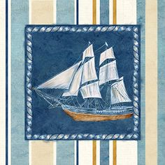 Nautical Stripe II  Cynthia Coulter