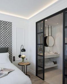 My parental suite - Soo Deco - Trend Illustration Design 2019 Interior Desing, Home Interior, Master Bedroom, Bedroom Decor, Bedroom Brown, Bedroom Ideas, Hotel Safe, Sweet Home, Great Rooms