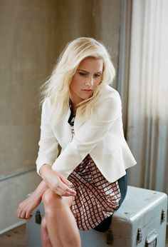Claire Holt for Aritzia: Love Hurts