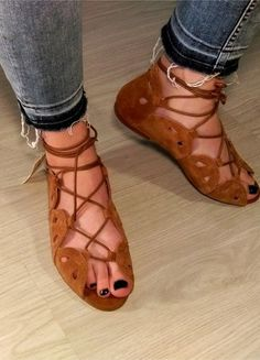 Kup mój przedmiot na #vintedpl http://www.vinted.pl/damskie-obuwie/sandaly/14338696-skorzane-karmelowe-sandaly-rozm-38-primark