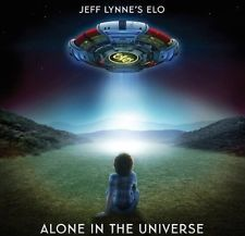JEFF LYNNE'S ELO - ALONE IN THE UNIVERSE CD 2015 ELECTRIC LIGHT ORCHESTRA *NEW*