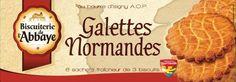 Légères et craquantes, ces authentiques Galettes Normandes sont fabriquées avec des oeufs et du beurre de Normandie