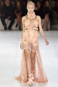 Alexander McQueen Spring 2012 | Paris Fashion Week