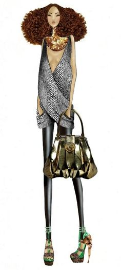 Image detail for -fashion sketch+McQueen by ~TwISHH on deviantART Dolce & Gabbana Leopard Necklace http://DolceandGabbanaLeopardNecklace.gr8.com