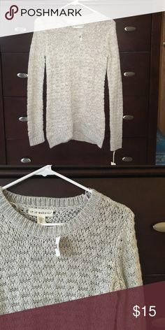 Grey TJMaxx Sweater New with tags. Brand: if it were me tj maxx Sweaters Crew & Scoop Necks