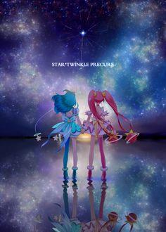Futari Wa Pretty Cure, Cute Little Drawings, Glitter Force, Anime Girl Cute, Cool Backgrounds, Fantasy Girl, Anime Ships, Magical Girl, Shoujo