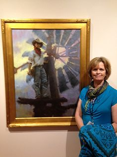 Aloft in the Western Sky was added to the permanent collection of the Booth Western Art Museum by Nancy Boren  ~  x