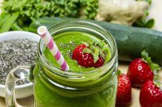 aardbei spinazie smoothie