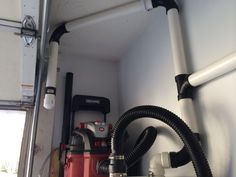 Picture of PVC Garage Central Vacuum System