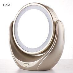 Blingbo Portable Makeup Mirror,Led Lighted Vanity Mirror ... https://www.amazon.com/dp/B01L9IVULO/ref=cm_sw_r_pi_dp_x_Hqp9xb54VD8CE
