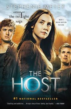 Great story, good book-The Host by Stephenie Meyer (same lady that wrote twilight)