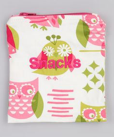 Take a look at this Hoot Owls Snack Bag by Caught Ya Lookin' on #zulily today!