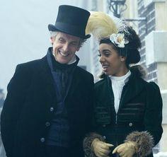 The Twelfth Doctor (Peter Capaldi) & Bill Potts (Pearl Mackie)