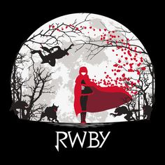 RWBY Beowolf Moon Shirt