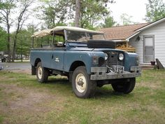land rover serie 2a 109 soft top - Google zoeken