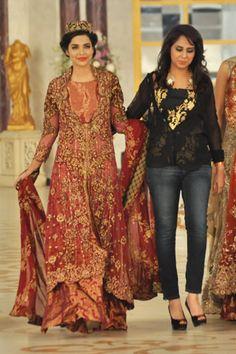 Saira Rizwan Collection at Pantene Bridal Couture Week 2013 Day 2