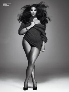 Marquita Pring Plus Size Model V Magazine
