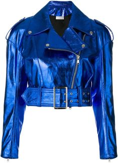 Shop women's leather jackets online now at Farfetch. Find women's designer leather jackets from luxury brands at top boutiques. Kpop Fashion Outfits, Girls Fashion Clothes, Stage Outfits, Girl Fashion, Punk Fashion, Lolita Fashion, Style Fashion, Fashion Dresses, Classy Outfits