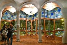 Casa Batllo windows