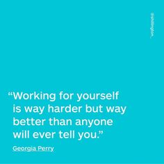 #QuoteOfTheDay from Georgia Perry. See more every Sunday on our Instagram @shillington_!