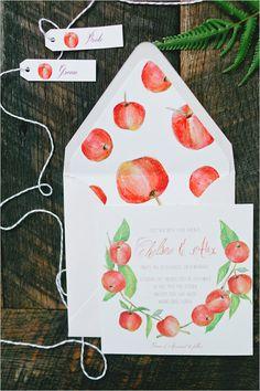 Adorable hand crafted stationery. Design: Lanas Shop #wchappyhour ---> http://www.weddingchicks.com/2014/05/23/weddingchickshappyhour3/