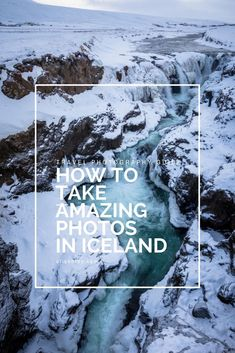 Learn how to take amazing photos in Iceland! #travel #travelphotography