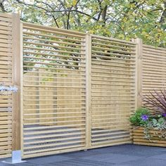 Grange Adjustable Slat Garden Screen (ASGS). Garden PrivacyScreens