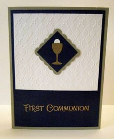 First Communion 3 by nancystamps - Cards and Paper Crafts at Splitcoaststampers