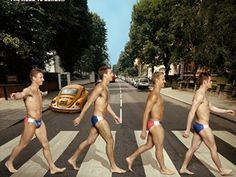 We hope this isn't adding to those offenses, but check out American athletes paying homage to the Beatles' famous crossing of Abbey Road, one of the most iconic images and album covers of the 20th century.  Michael Phelps, Jordyn Wieber, Alex Morgan, Allyson Felix, and a whole lot more strutted across the famous walk to promote the upcoming Summer Games for NBC.@Laura Meredith
