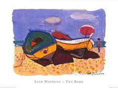 leon morrocco - Two boats