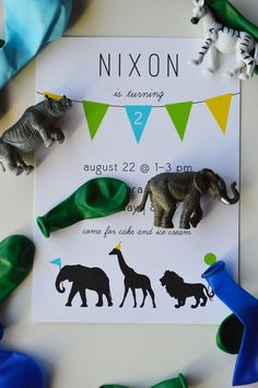 Animal Birthday Party Details - The Modern Dad