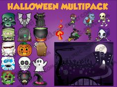 Halloween Graphics Pack - Graphic Buffet - Indie Game Graphics and Art