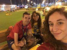 Segundo día en la Villa. Masaje y reencuentros :D #Rio2016 #EXTRio2016