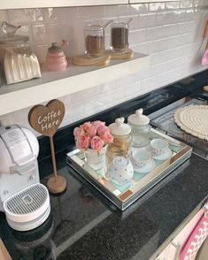 diy coffee bar cabinet ideas for the perfect table 7