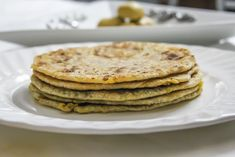 Green Moong Dal Paratha Recipe (Stuffed Lentil Flat Bread)