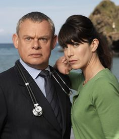 Doc Martin is a British television comedy drama series starring Martin Clunes in the title role. It is set in the fictional seaside village of Portwenn and filmed on location in the village of Port Isaac, Cornwall.  Watching it right now!  One of my favorites!