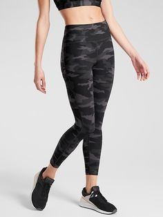 Ultimate Stash Pocket Camo 7/8 Tight | Athleta Bohemian Maternity, Maternity Fashion, Maternity Clothing, Maternity Style, Spanx Leather Leggings, White Leggings, Mom Outfits, Fall Outfits, Try On
