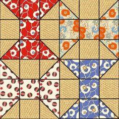 Spool quilt block by jayne
