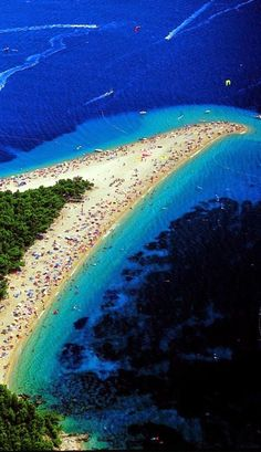 Croacia  ♥  Croatia Zlatni Rat, Croacia.