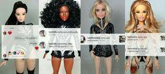 BONECOS DO BABY: As meninas do Rouge curtiram suas bonecas feitas p...
